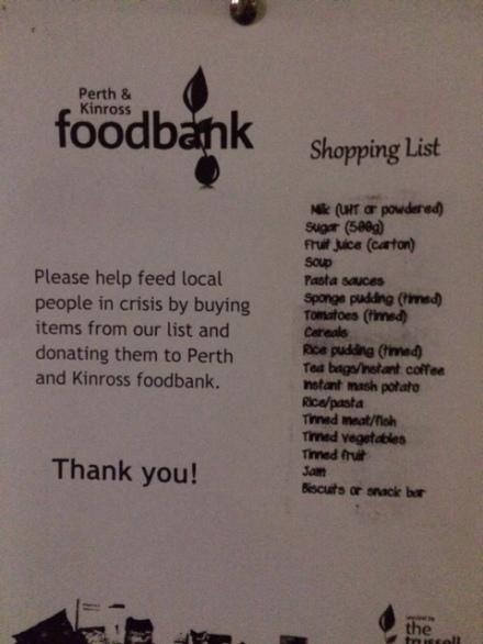 foodbank list